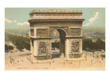 Arc de Triomphe, Paris Print