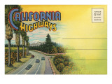 Postcard Folder, California Highways Posters