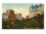 Central Park near Entrance, New York City Prints