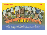 Greetings from Columbiana, Ohio Prints