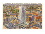 Downtown Akron, Ohio Prints