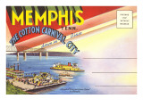 Postcard Folder, Memphis, Tennessee Posters