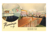 Flamingo Room, Oklahoma Club, Oklahoma City, Oklahoma Posters