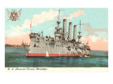 USS Armored Cruiser Brooklyn Posters