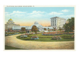 Palm House and Garden, Wilkes-Barre, Pennsylvania Prints