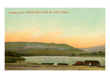 The Dalles, Columbia River, Oregon Poster
