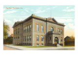 City Hall, The Dalles, Oregon Prints