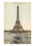 Torre Eiffel, París Láminas