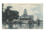 Pier, Chautauqua, New York Prints
