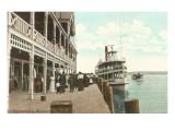 Chautauqua Assembly Dock, New York Art
