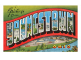 Greetings from Youngstown, Ohio Prints
