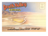 Postcard Folder of Death Valley, California Posters