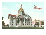 Courthouse, Binghamton, New York Prints