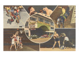 Various Sports at Madison Square Garden Prints