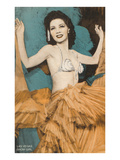 Showgirl, Las Vegas, Nevada Prints