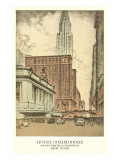 Hotel Commodore, New York City Prints