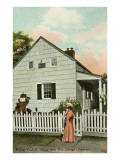 Edgar Allan Poe Cottage, New York City Prints