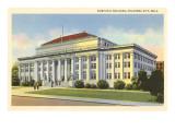 Municipal Building, Oklahoma City, Oklahoma Prints