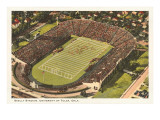 Skelly Stadium, University of Tulsa, Oklahoma Prints
