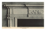 Detail of Colonial Mantel, Philadelphia, Pennsylvania Posters