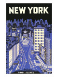 New York, Times Square Prints