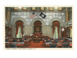 Interior, State House, Albany, New York Posters