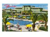 Hotel Flamingo, Las Vegas,  Nevada Affiche