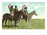 Ponca Indians, Oklahoma City, Oklahoma Print