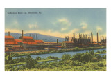 Bethlehem Steel, Bethlehem, Pennsylvania Prints