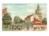 Old State House, Philadelphia, Pennsylvania, 1735 Posters