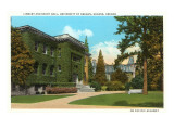 Library, University of Oregon, Eugene Posters