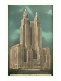 Waldorf-Astoria Hotel, New York City Poster