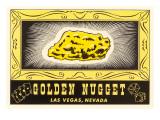 Golden Nugget Logo, Las Vegas, Nevada Poster