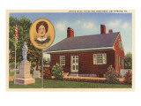 Jennie Wade House, Gettysburg, Pennsylvania Posters