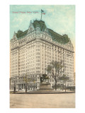 Hotel Plaza, New York City Poster