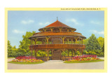 Pavilion at Highland Park, Rochester, New York Prints