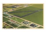 Municipal Airport, Tulsa, Oklahoma Prints