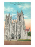 St. John the Divine Cathedral, New York City Print