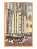 Radio City Music Hall, New York City Prints