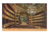 Paris Opera House Interior Poster