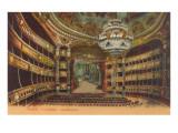 Paris Opera House Interior Poster