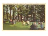 Adirondack Inn, Sacandaga, New York Prints