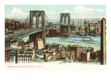 Brooklyn Bridge, New York City Posters