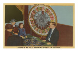 Wheel of Fortune, Nevada Poster
