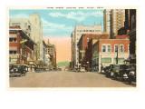 Third Street, Tulsa, Oklahoma Poster