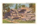 Devil's Den, Gettysburg, Pennsylvania Posters