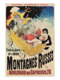 French Roller Coaster Poster Prints