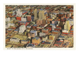 View over Oklahoma City, Oklahoma Posters