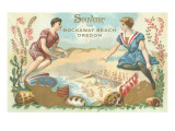Souvenir from Rockaway Beach, Oregon Print