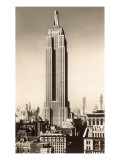 Photograph of Empire State Building, New York City Posters